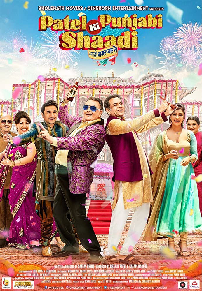 Patel Ki Punjabi Shaadi 2017 Hindi Full Movie 720p HDRip 800MB ESub Download