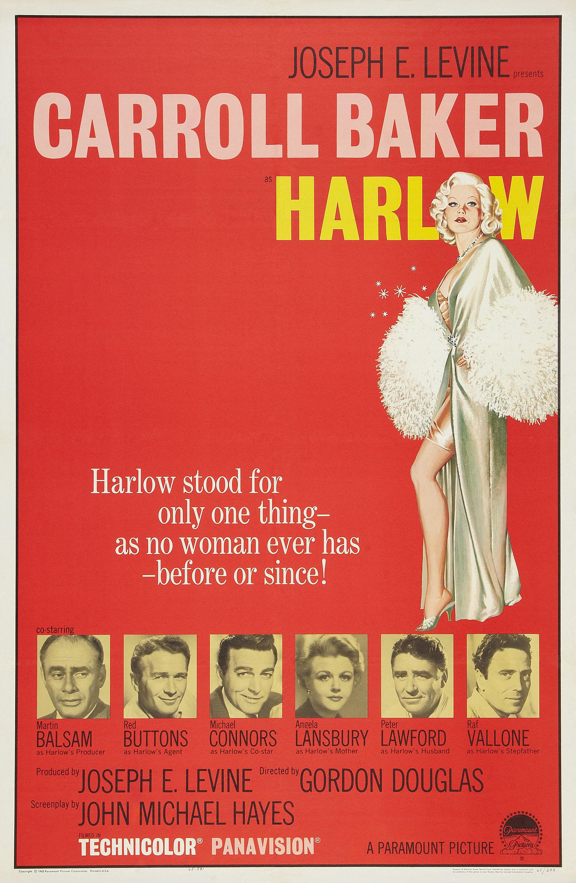 Harlow (1965) - IMDb