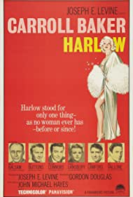 Leslie Nielsen, Martin Balsam, Red Buttons, Angela Lansbury, Carroll Baker, Mike Connors, Peter Lawford, and Raf Vallone in Harlow (1965)
