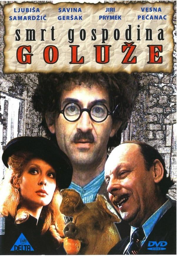 Savina Gersak and Ljubisa Samardzic in Smrt gospodina Goluze (1982)