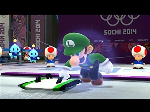 Mario And Sonic At The Olympic Winter Games Sochi 2014 (VG)