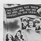 Elvia Allman, Joan Davis, Jinx Falkenburg, Robert Kellard, Tim Ryan, Walter Sande, Blanche Stewart, Joan Woodbury, and William Wright in Sweetheart of the Fleet (1942)