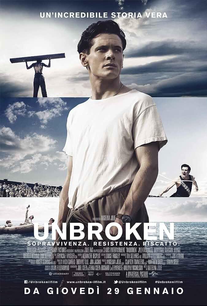 Unbroken (2014) Hindi Dubbed