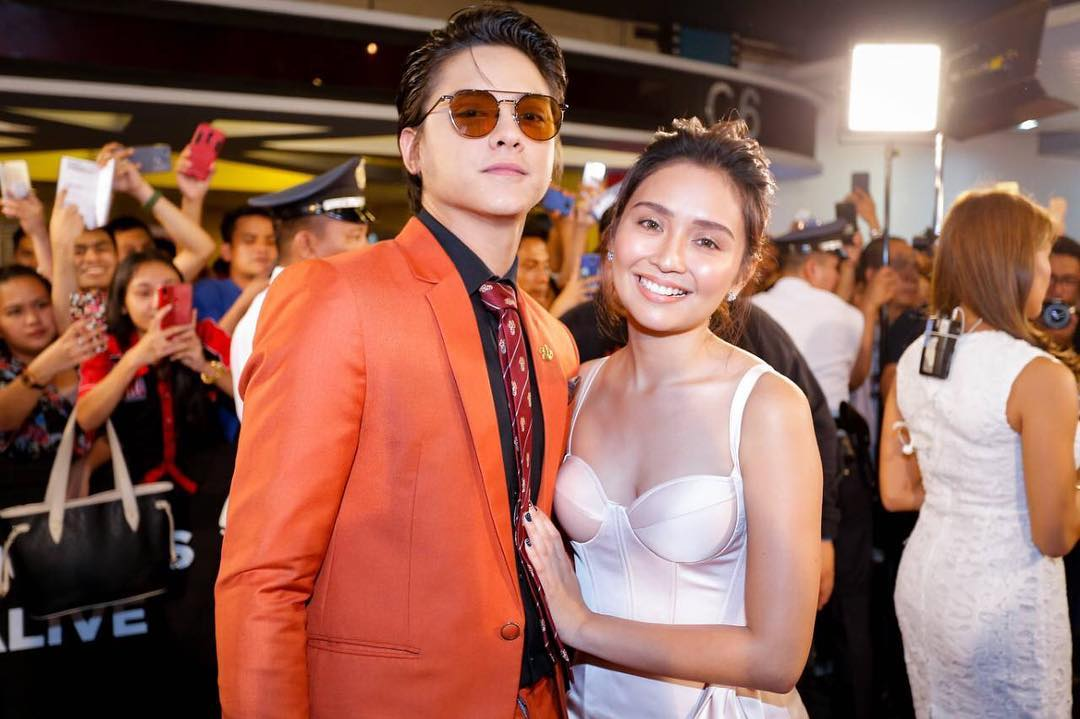 Kathryn Bernardo and Daniel Padilla at an event for The Hows of Us (2018)