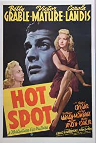 Victor Mature, Betty Grable, and Carole Landis in I Wake Up Screaming (1941)