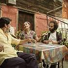 Suleyman Kabaali, Ufuk Sen, and Bengi Idil Uras in Korku Komedi: Bana Normal Aktiviteler (2016)