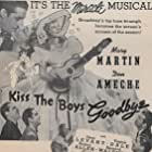 Don Ameche, Eddie 'Rochester' Anderson, Virginia Dale, Oscar Levant, and Mary Martin in Kiss the Boys Goodbye (1941)