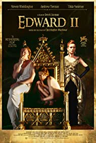 Tilda Swinton, Andrew Tiernan, and Steven Waddington in Edward II (1991)