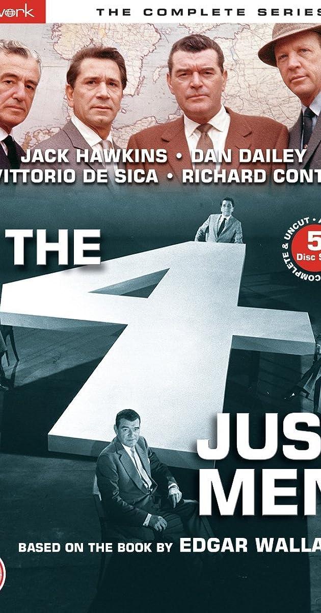 The Four Just Men Tv Series 19591960 Imdb