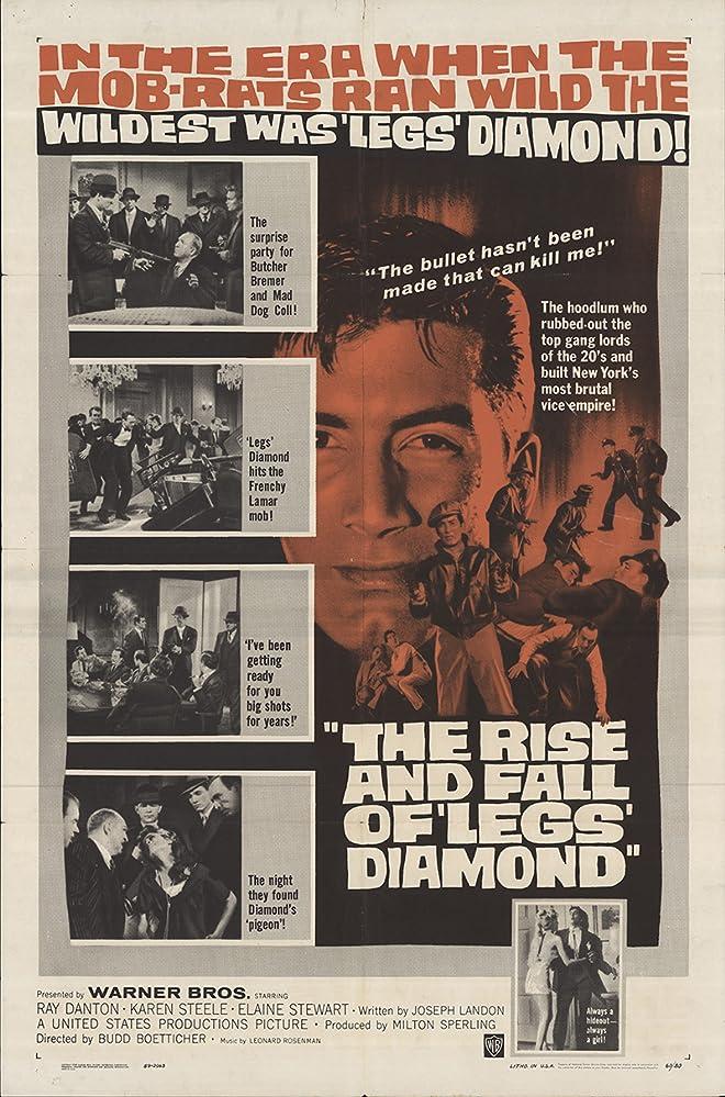 Ray Danton in The Rise and Fall of Legs Diamond (1960)