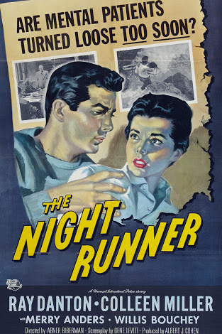 Ray Danton and Colleen Miller in The Night Runner (1957)
