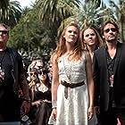 David Duchovny, Alanna Ubach, Steve Jones, Maggie Grace, and Tim Minchin in Californication (2007)