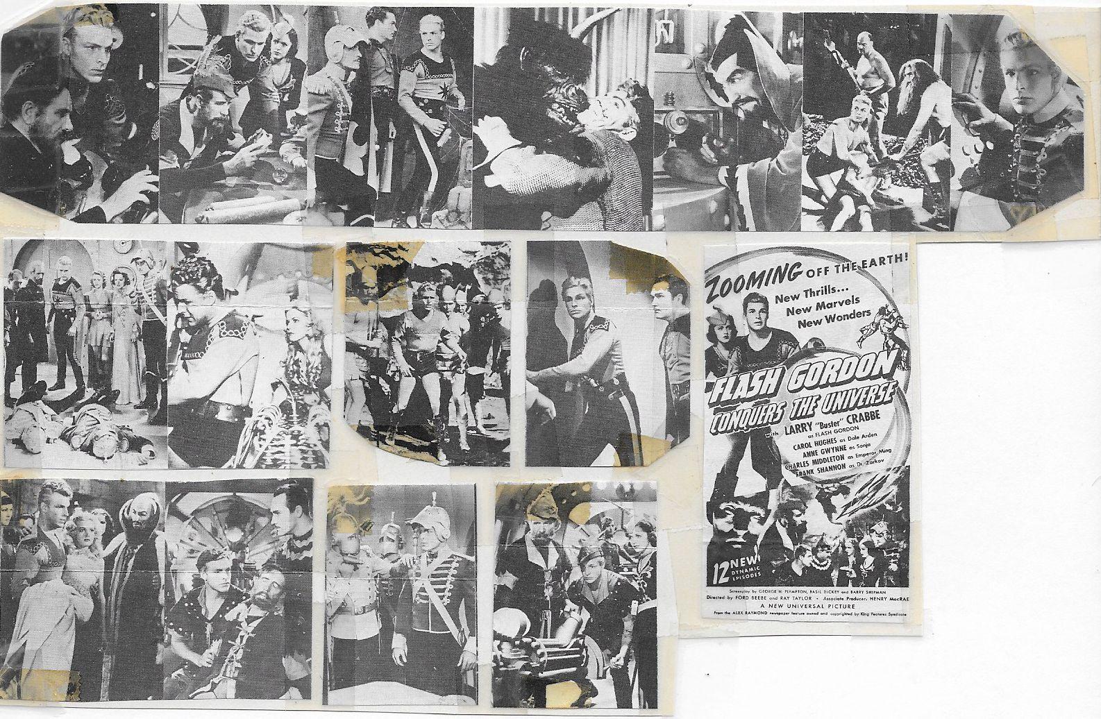 Buster Crabbe, Shirley Deane, Roland Drew, Edgar Edwards, Anne Gwynne, Carol Hughes, Charles Middleton, Lee Powell, Don Rowan, and Frank Shannon in Flash Gordon Conquers the Universe (1940)