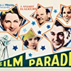 Gary Cooper, Oliver Hardy, Norma Shearer, and Gloria Swanson in The Film Parade (1933)