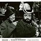 Bernard Blier and Fernandel in L'homme à l'imperméable (1957)