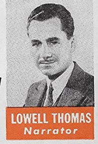 Primary photo for Lowell Thomas