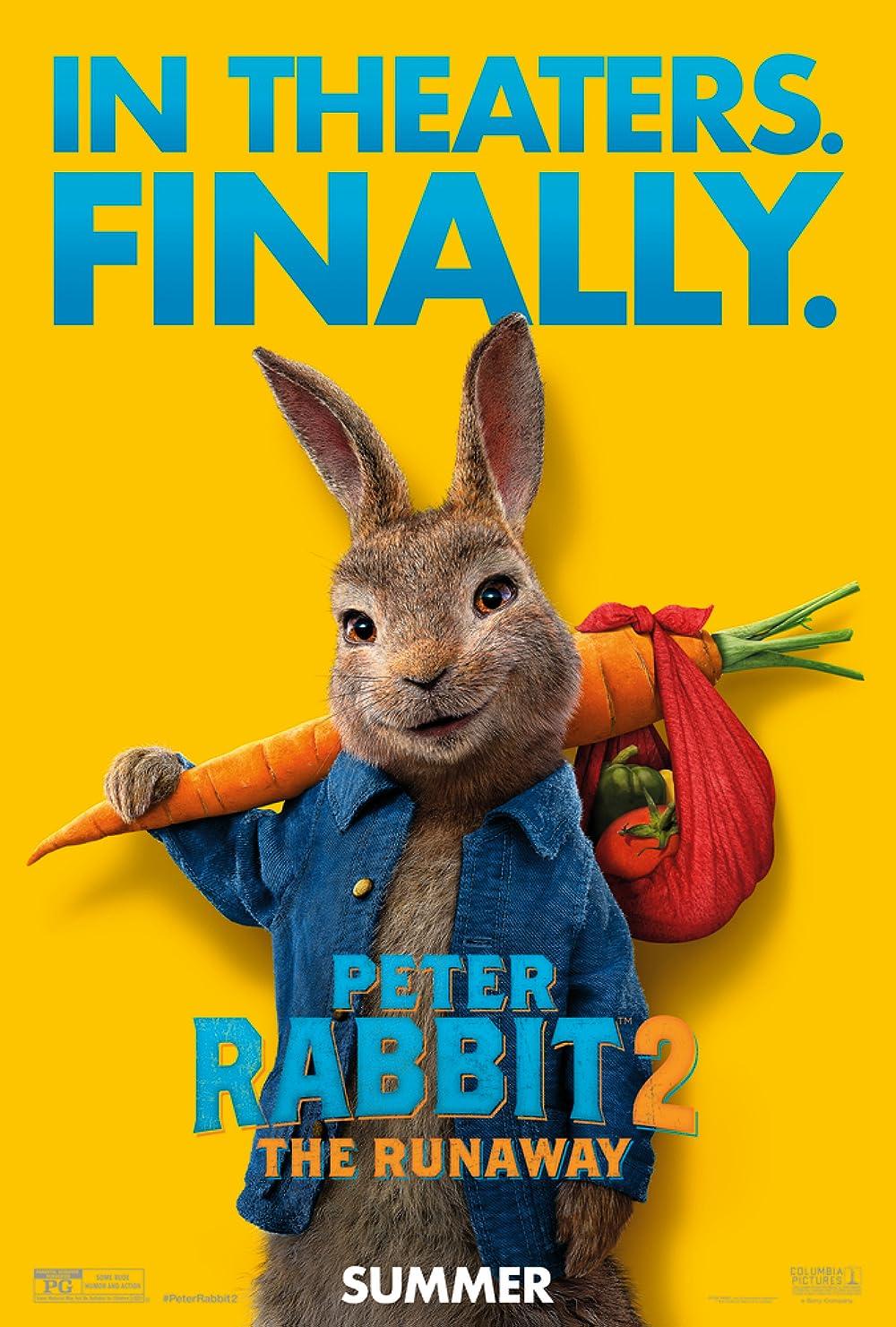 Peter Rabbit 2 The Runaway 2021 English 720p HDRip 850MB Download