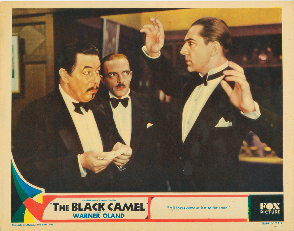 Bela Lugosi, C. Henry Gordon, and Warner Oland in The Black Camel (1931)