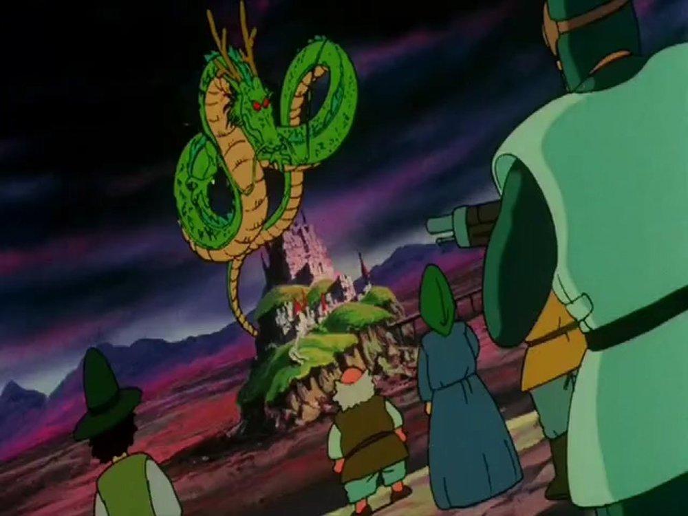 Kenji Utsumi in Dragon Ball: Shenron no Densetsu (1986)