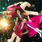 Sunny Singh Nijjar, Nushrat Bharucha, and Kartik Aaryan in Sonu Ke Titu Ki Sweety (2018)