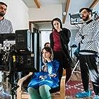 Baran Sarmad, Faraz Modiri, Shadi Karamroudi, and Mohammadreza Mayghani in Spotted yellow (2020)