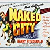 Howard Duff, Barry Fitzgerald, Dorothy Hart, and Don Taylor in The Naked City (1948)