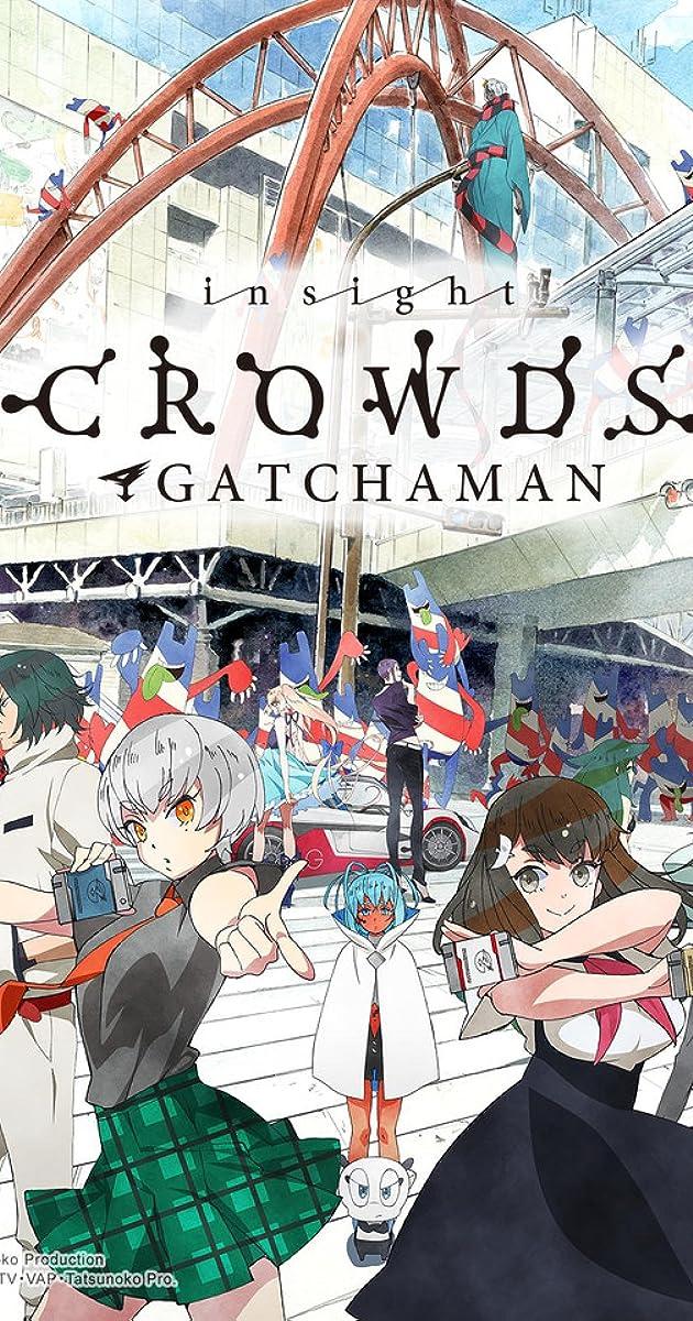 Gatchaman Crowds Insight TV Series 2015