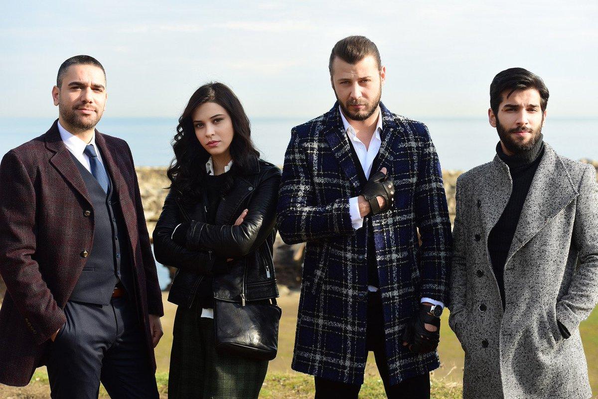 Kadir Dogulu, Devrim Özkan, Ümit Kantarcilar, and Baran Bölükbasi in Vuslat (2019)
