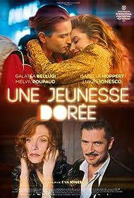 Isabelle Huppert, Melvil Poupaud, Galatéa Bellugi, and Lukas Ionesco in Une jeunesse dorée (2019)