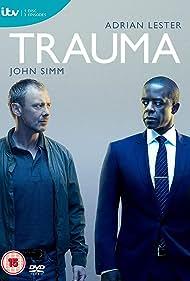Adrian Lester and John Simm in Trauma (2018)