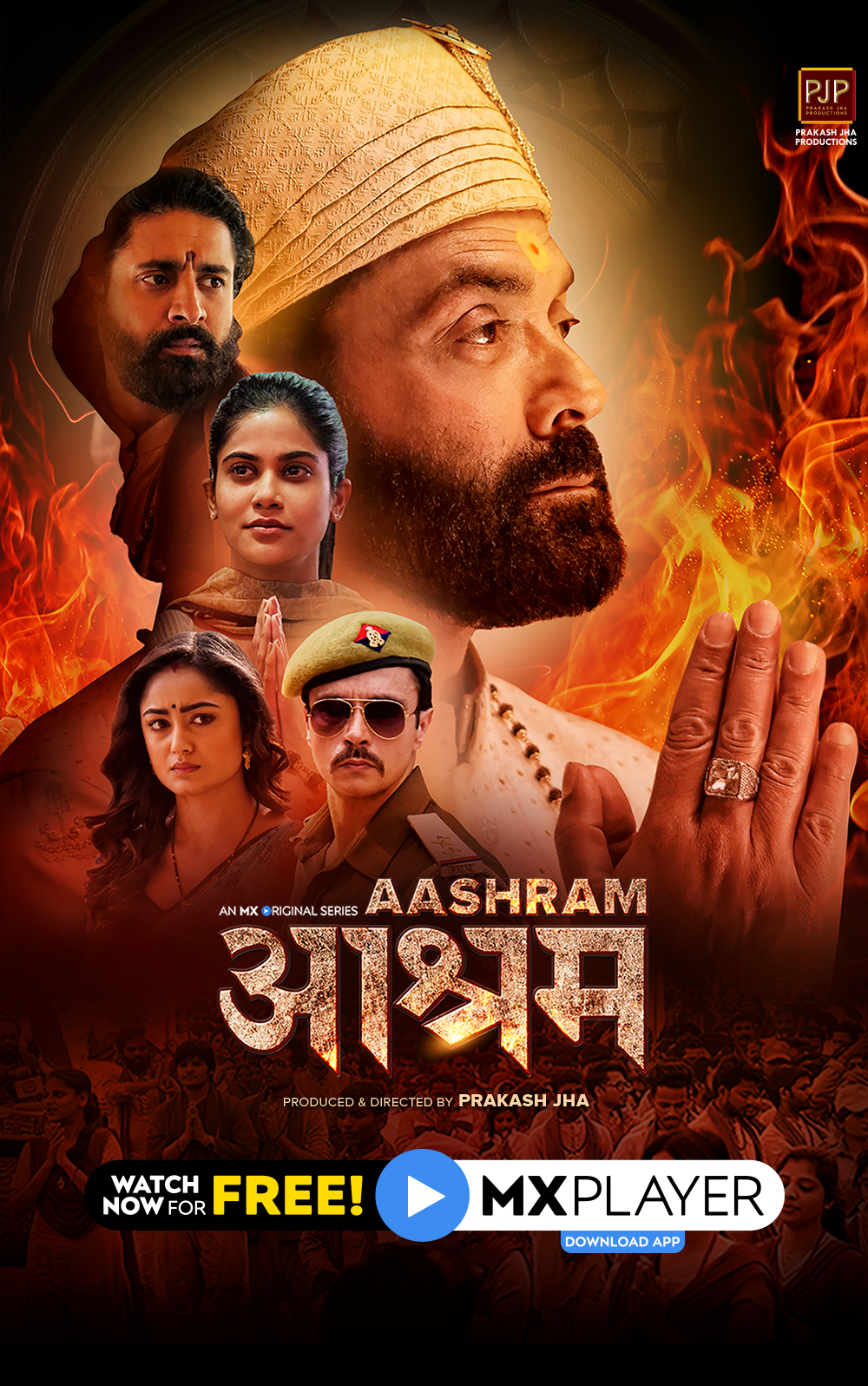 Aashram Chapter 2 The Dark Side 2020 S02 Hindi MX Player Original Web Series Official Trailer 1080p HDRip Free Download