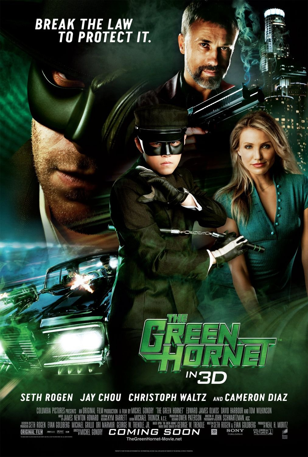 The Green Hornet 2011 Hindi Dual Audio 405MB BluRay ESubs Download