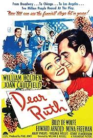 William Holden, Edward Arnold, Joan Caulfield, and Billy De Wolfe in Dear Ruth (1947)