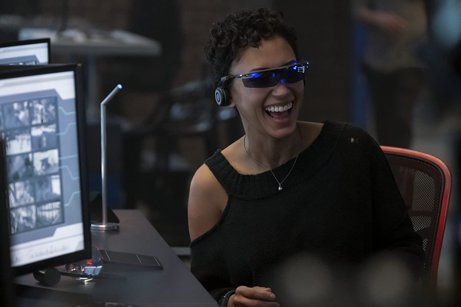 Andy Allo in Upload (2020)