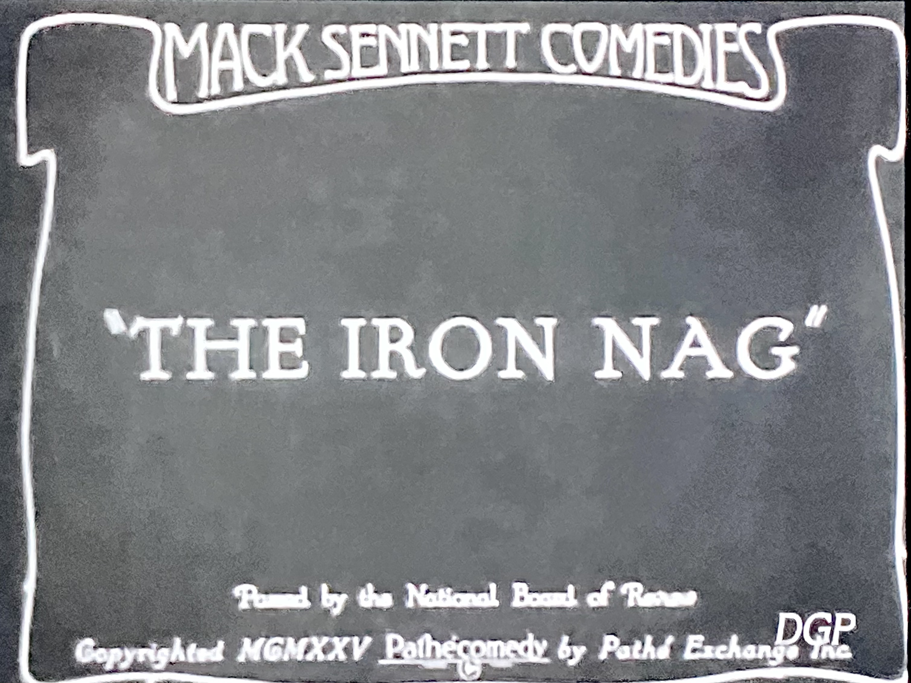 The Iron Nag (1925)