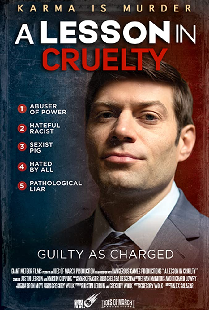 A Lesson in Cruelty (2018) English 720p 795MB | 233MB HDRip Download