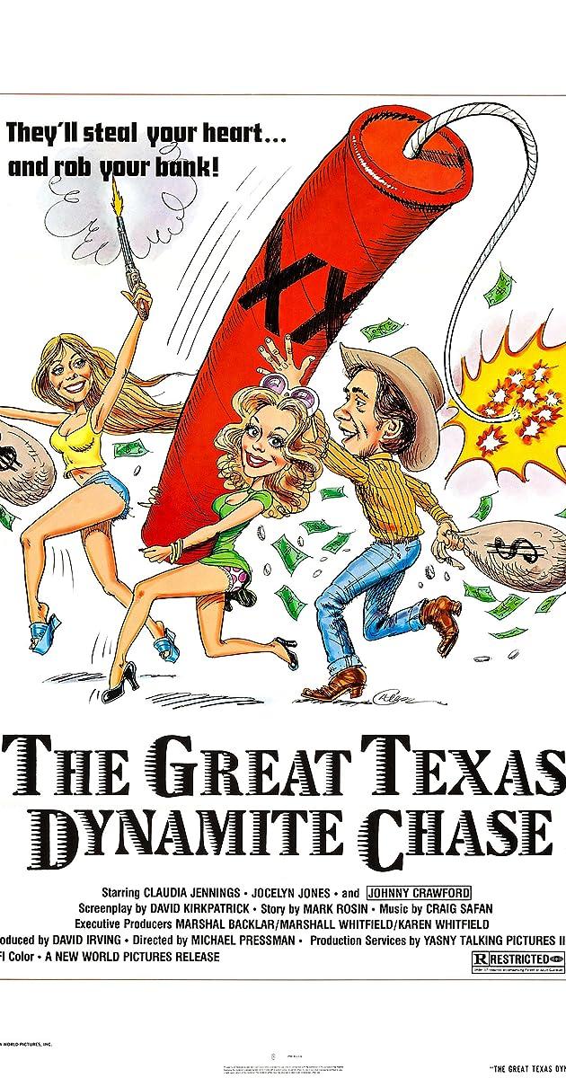The Great Texas Dynamite Chase (1976) - IMDb