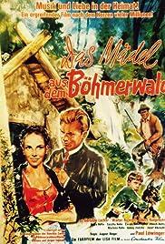 Das Mädel aus dem Böhmerwald Poster