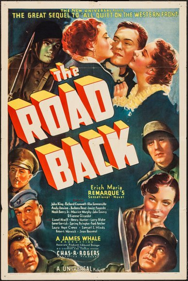 Noah Beery Jr., Richard Cromwell, Andy Devine, Louise Fazenda, John 'Dusty' King, Maurice Murphy, Barbara Read, and Slim Summerville in The Road Back (1937)