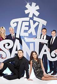 Text Santa 2014 Poster