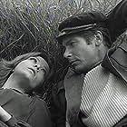 Milena Dravic and Ivica Vidovic in Zaseda (1969)