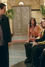 David Boreanaz, Charisma Carpenter, Alexis Denisof, and J. August Richards in Angel (1999)