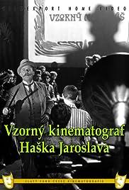 Jaroslav Hasek's Exemplary Cinematograph Poster