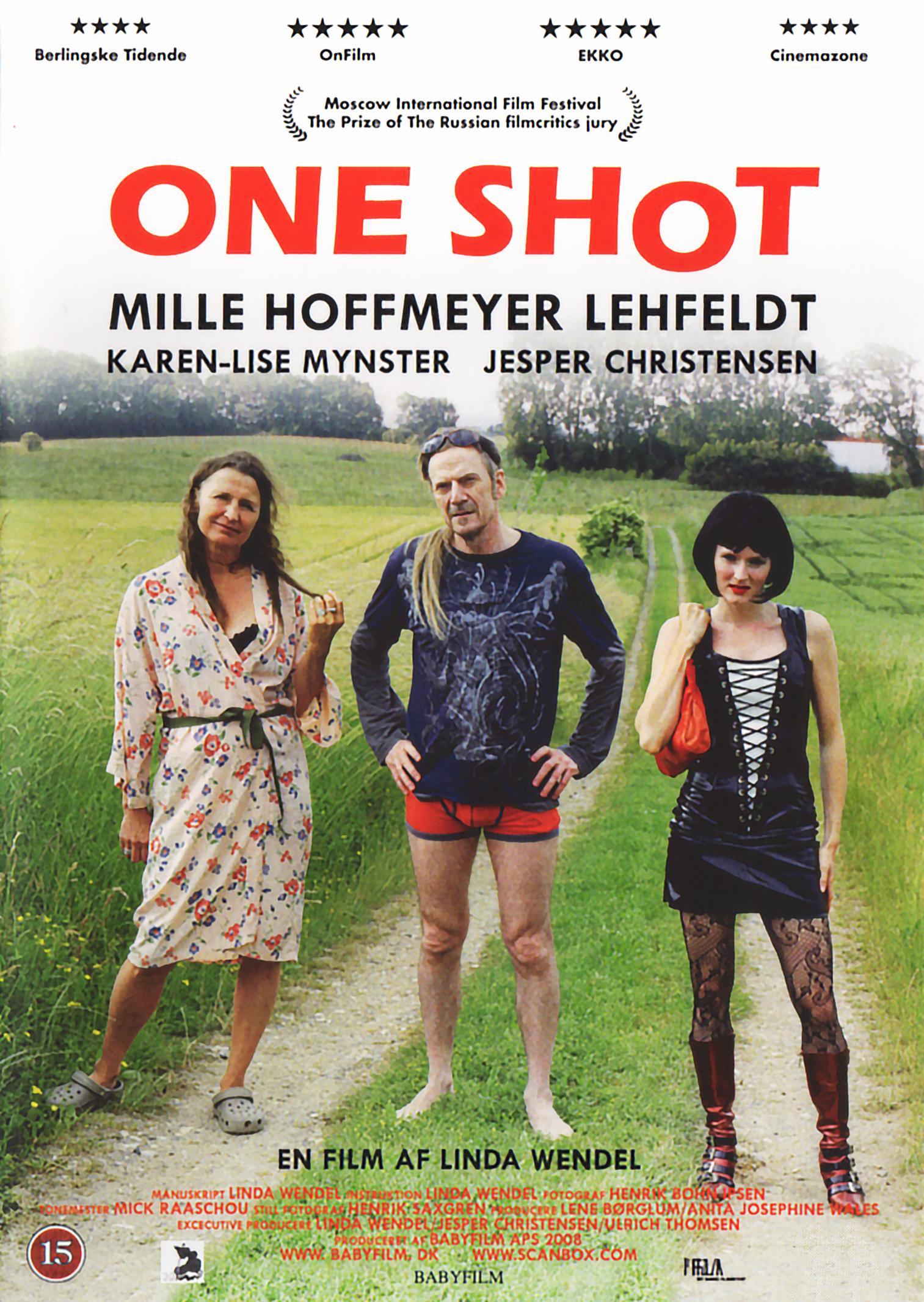Jesper Christensen, Mille Lehfeldt, and Karen-Lise Mynster in One Shot (2008)