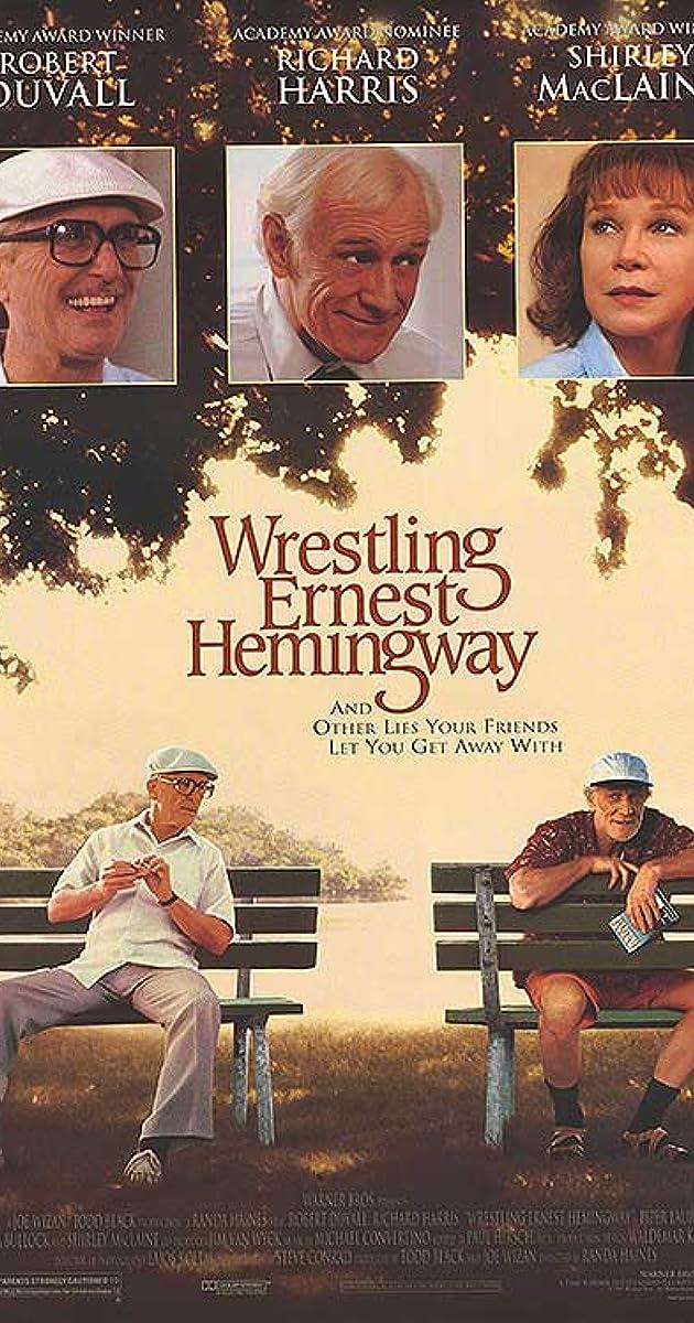 Subtitle of Wrestling Ernest Hemingway