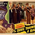 William Gould, Betty Lawford, Nan Leslie, Ted North, Harry Shannon, Lawrence Tierney, and Andrew Tombes in The Devil Thumbs a Ride (1947)