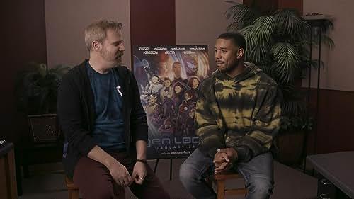 Michael B. Jordan on Anime