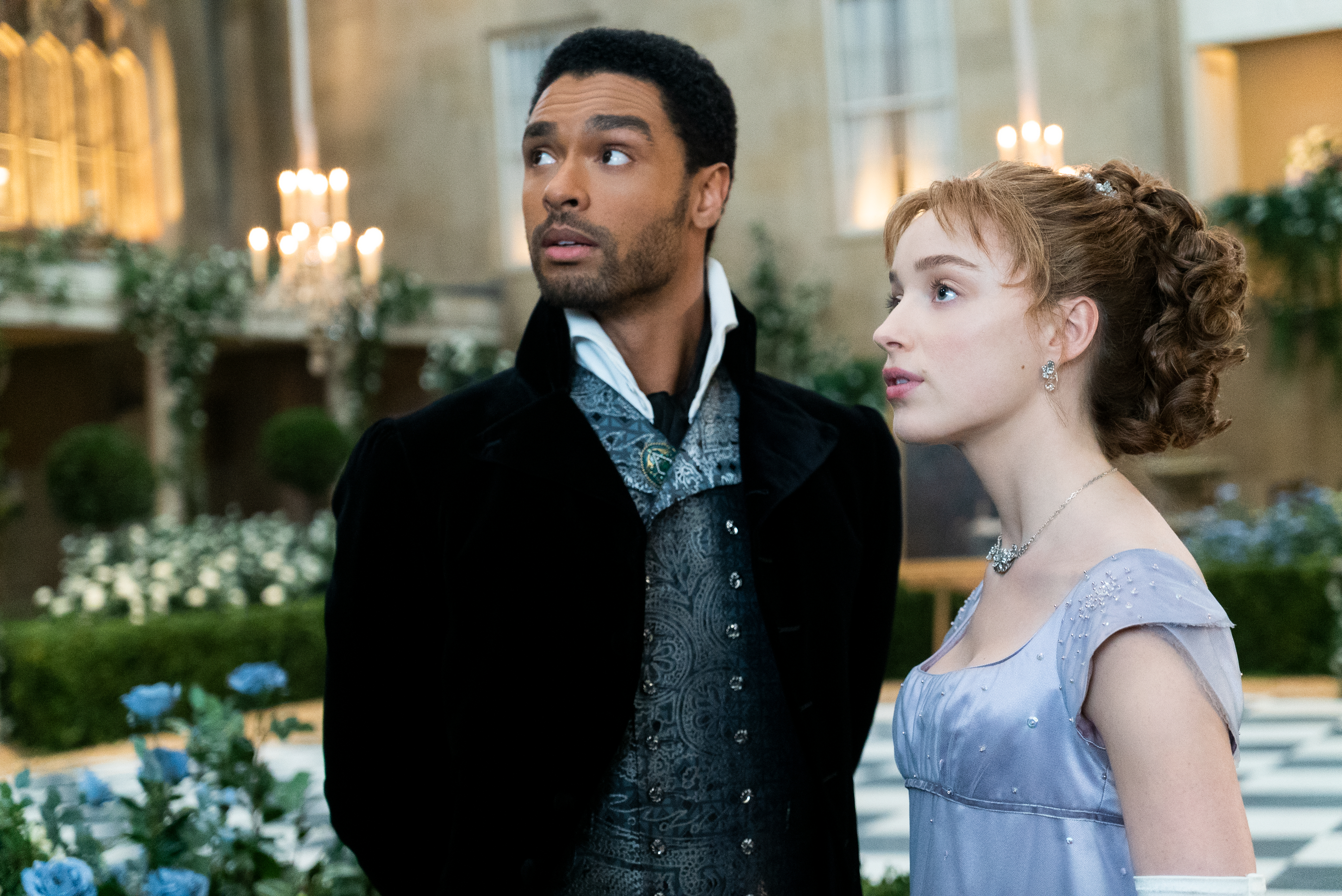 Regé-Jean Page and Phoebe Dynevor in After the Rain (2020)
