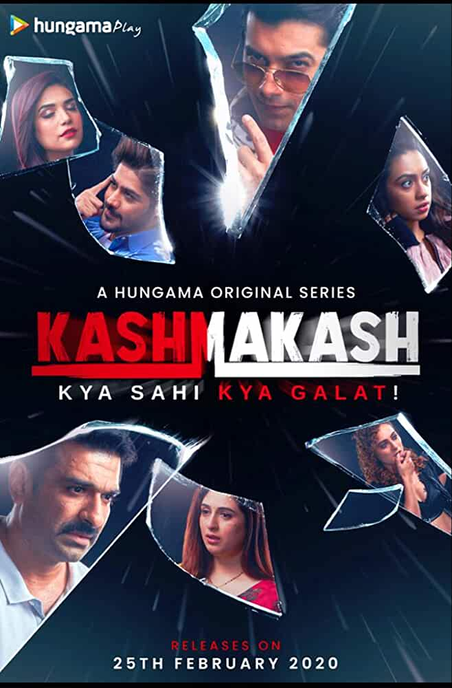 (18+) Kashmakash: Kya Sahi Kya Galat (2020) UNRATED 720p HEVC HDRip Hindi S01 Complete Hot Web Series x265 AAC 900MB