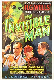 The Invisible Man (1933) Poster - Movie Forum, Cast, Reviews